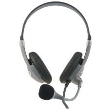 Ewent EW3561 Stereofonisch Hoofdband Zwart, Grijs hoofdtelefoon