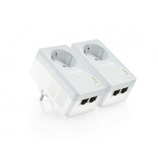 HomePlug AV, 10/100 Mbps Ethernet, OFDM, 128-bit AES, 300 m